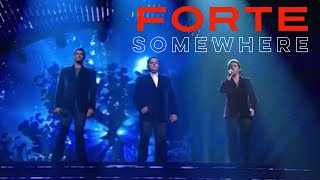 Forte Tenors - Somewhere from West Side Story on Americas Got Talent - Radio City Debut