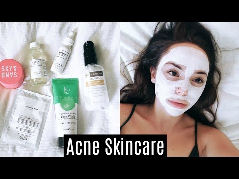 Skincare Routine For Acne/Oily Skin ♡