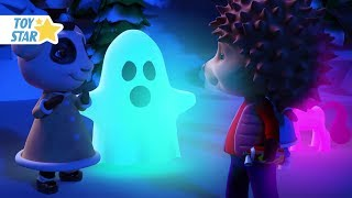 New 3D Cartoon For Kids ¦ Dolly And Friends ¦ Winter Real Ghost Story #111