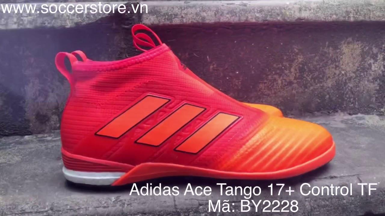 Adidas Ace Tango 17+ Purecontrol TF Solar Red Solar Orange Core Black, mã sp: BY2228