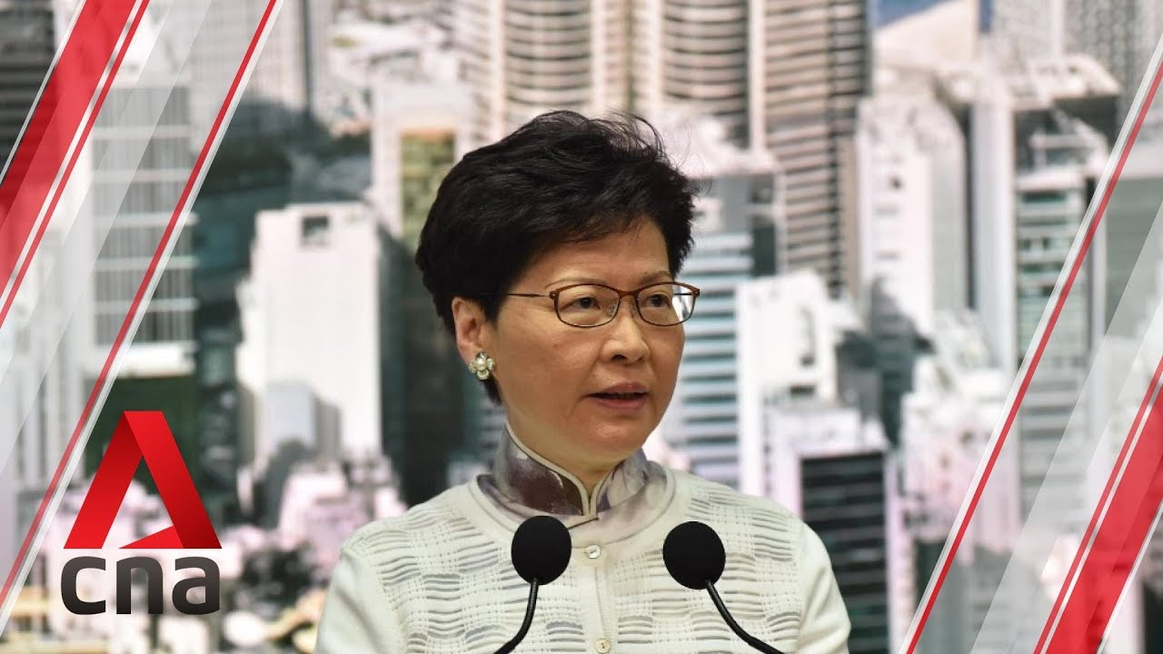 Hong Kong Chief Executive Carrie Lam suspends controversial extradition Bill