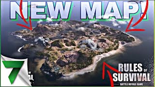 NEW DESERT MAP IN RULES OF SURVIVAL BATTLE ROYALE!