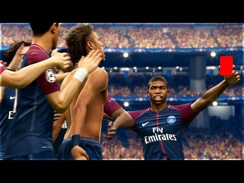 CAN YOU GET A RED CARD FOR CELEBRATING? (PES 2018)