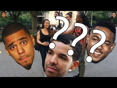 DRAKE vs J COLE VS KENDRICK LAMAR?? We ask NEW YORK CITY: Who's the best!!??