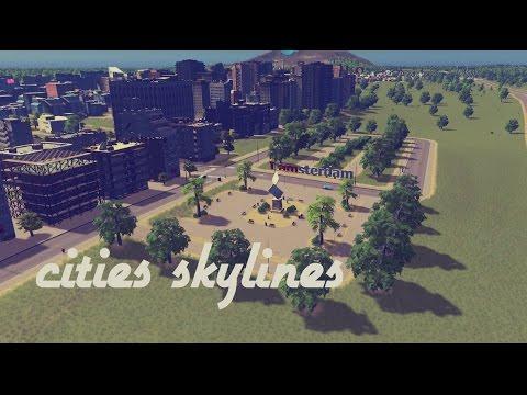 Cities Skylines I building Amsterdam!