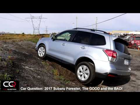 2017 Subaru Forester: the GOOD and the BAD!! / THE Most Complete review! / Part 5/8