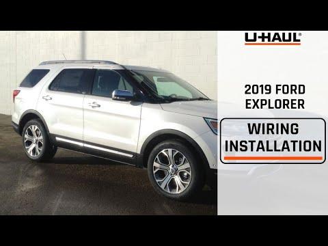2019 Ford Explorer Trailer Wiring Installation