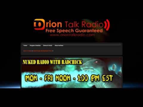 Nuked Radio #24 NB Canada EQs & Enviroreporter Rocks it on G4!