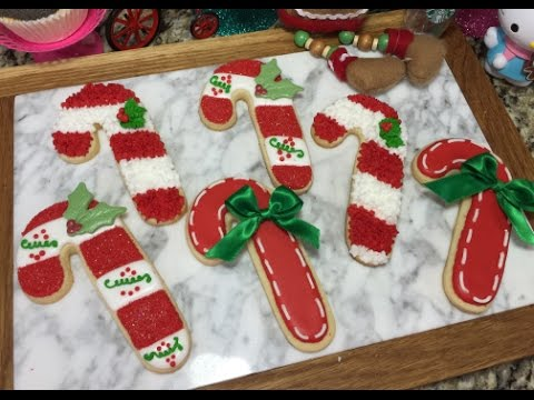 Christmas Candy Cane Cookies How To