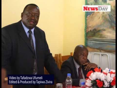 Watch Zimbabwe War Veterans savage Grace Mugabe, VP Mphoko
