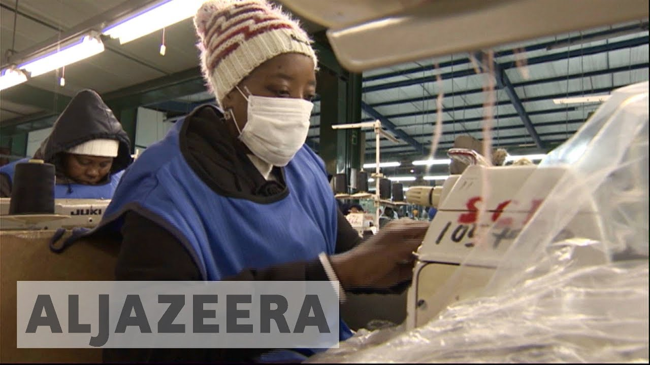Factory workers in Lesotho push for better working conditions