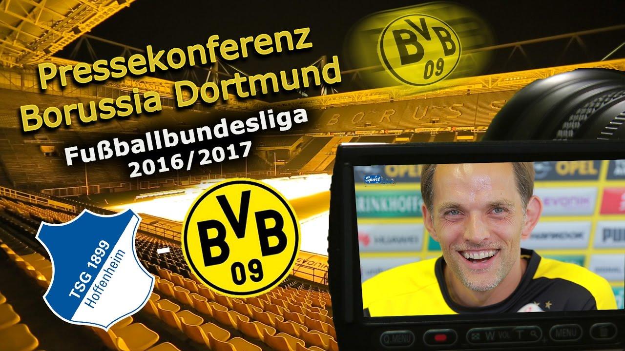 TSG 1899 Hoffenheim - Borussia Dortmund: Pk mit Thomas Tuchel