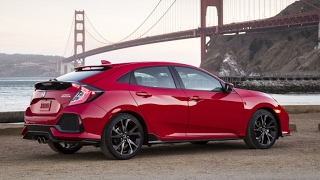 The 2017 Honda Civic Hatchback is here all turbo, manual optional