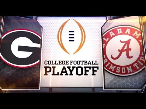 Saban's Father's Death | Alabama to beat Georgia in College Football Championship, January 8, 2018