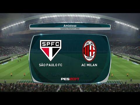 PES 2017 - São Paulo vs Milan - Estádio Saitama - Modo ESTRELA - Playstation 4