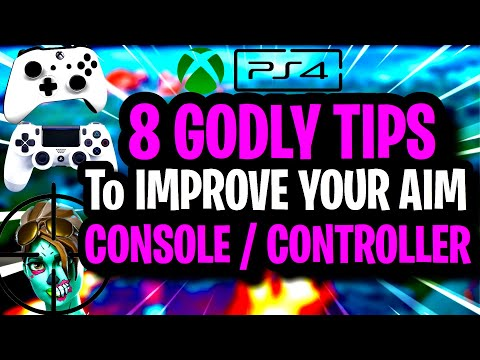 8 ADVANCED Tips To IMPROVE YOUR AIM On CONSOLE / CONTROLLER ~ Fortnite Chapter 2 BEST AIMING Guide