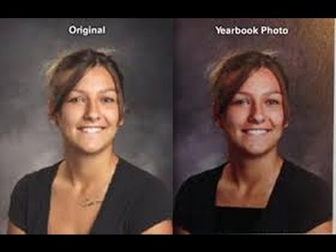 High School Yearbook pics edited for being too sexy