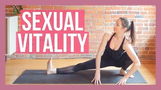 Improve sexual health and vitality with this 30 min libido boosting yoga flow. 🌞 join the morning challenge 10 of for days to chan...