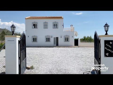 spanish-property-choice-video-property-tour---villa-a1161-cortijo,-oria,-almeria,-spain.-199,950€