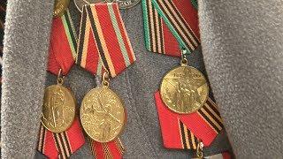 Поздравление ветеранов Великой Отечественной войны с Днём победы, 9 мая.