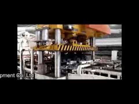 Clay Roof Tile Automatic Production Line with Kiln unloading and Roof Tile Packaging System