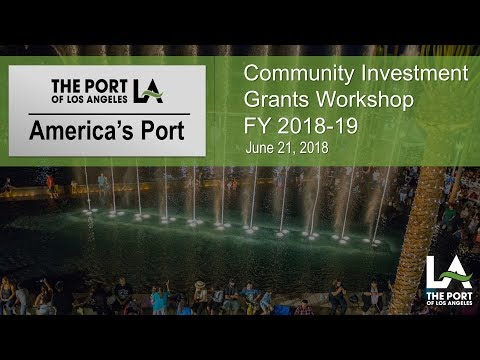Port of Los Angeles Donates $1 Million in Grants to 30 Local
