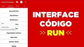 Baixar Códigos prontos para executar, estudar e copiar | Programação Android pelo celular Android