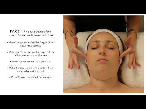 In The Salon With Gatineau - Absolute Pressure Point Face Massage Demonstration