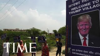 Charity That Provides Toilets To Villagers May Rename Indian Village After President Trump | TIME