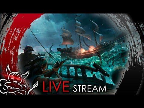Sea Of Thieves - Bes, Jakir, Ezida идут на Абордаж ! [Стрим]