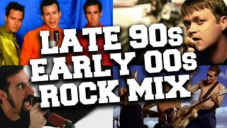 Late 90s Early 2000s Rock Hits Mix 🤘 Popular Rock Songs Late 90s Early 2000s Playlist - best pop songs 90s and 2000s