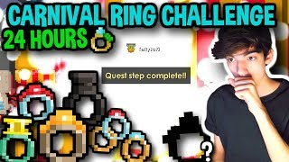 HOW MANY CARNIVAL RINGS CAN I GET IN 24 HOURS?! | Growtopia