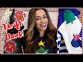 Ugly Christmas Sweater Thrift Haul + Try On!