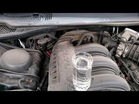 Работа двигателя Chrysler 300c - объем 2.7 - вырезаны катализаторы