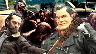 Rick Kills Negan With Lucille - The Walking Dead Fallout 4 Parody