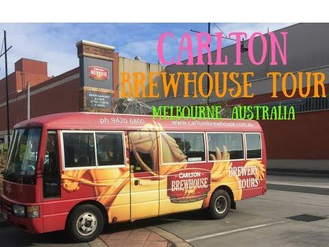 Carlton Brewhouse Tour, Melbourne, Australia