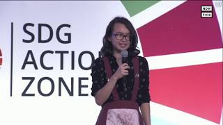 Youth Activists Attend UN Youth Climate Summit and SDG Action Zone | NowThis