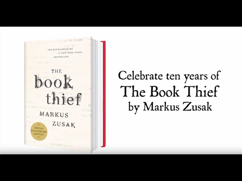 THE BOOK THIEF 10th Anniversary | By Markus Zusak