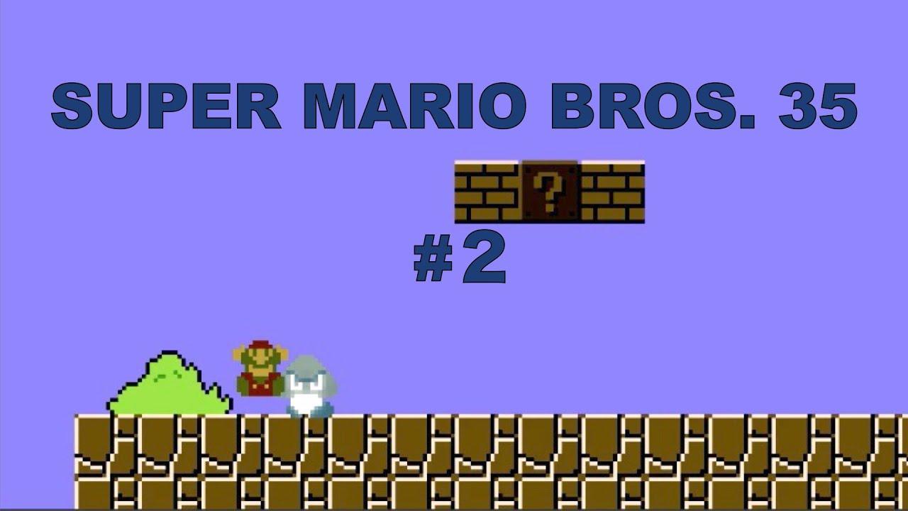 『SUPER MARIO BROS. 35 #2』だらだら実況