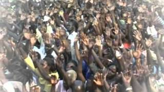 Miracle explosion, in Wau, South Sudan.