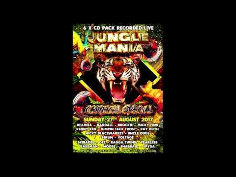 Dillinja B2B Randall with MC Moose @ Jungle Mania Carnival Special 2017