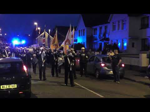 Donaghadee Flutes And Drums (1) @ Crown Defenders 2018