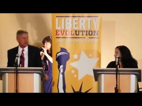 Presidential Forum Libertarian Convention 2016 Gary Johnson and Shawna Joy Sterling