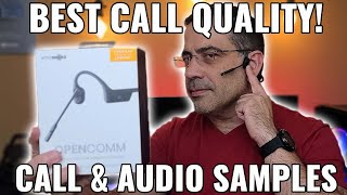 New 2020 OpenComm Aftershokz AMAZING Call Quality and Audio Sample
