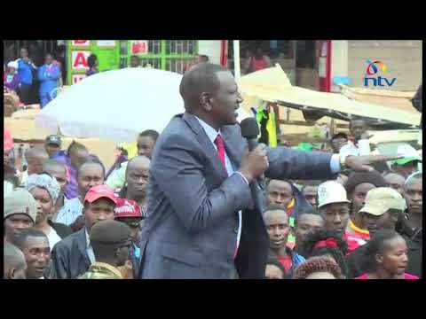 DP William Ruto says murders in Ruaraka a criminal act