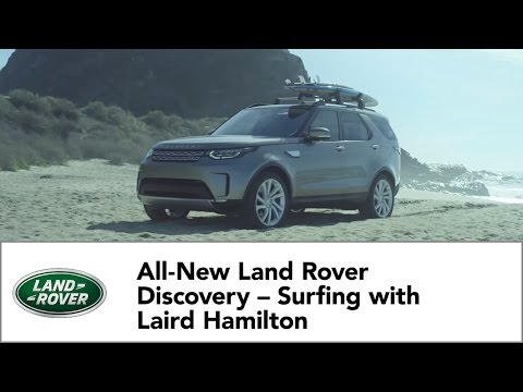 All-New Land Rover Discovery – Surfing with Laird Hamilton