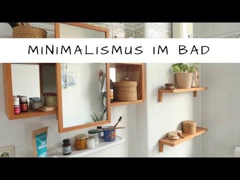 Minimalismus im Bad!  Extrem? Eklig? Was gibt es NEUES?