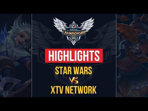 HIGHLIGHTS XTV NETWORK vs STAR WARS   VÒNG LOẠI HCM   MOBILE LEGENDS BANG BANG thumbnail