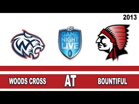 "Football: Woods Cross @ Bountiful High School Utah ""KSL Game Night Live"" 9/27/13"