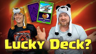 BTD Card Battles - Lucky Deck vs Tyler